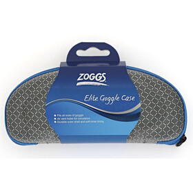 Zoggs Elite Goggles Case blue/grey